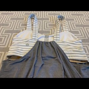 lululemon athletica Tops - Lululemon Gray and white tank